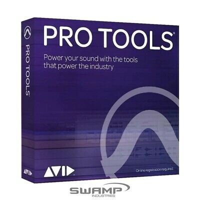 Avid Pro Tools 1-Year Licence - DAW - Fast Electronic Delivery • 237.79£