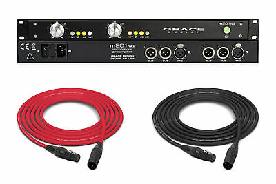 Grace Design M201 MKII (Analog) | 2Ch Microphone Preamplifier • 1,439.74£