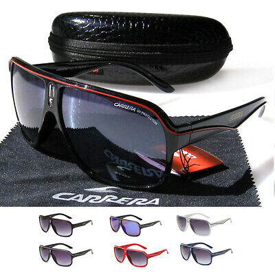 Carrera Men Women Sunglasses Ruthenium Pilot Gradient Lens Eye Glasses With Box • 7.59£