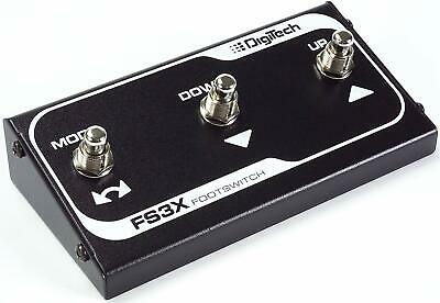 New DigiTech FS3X Compact 3-Button Footswitch Pedal +Free Shipping • 31.50£