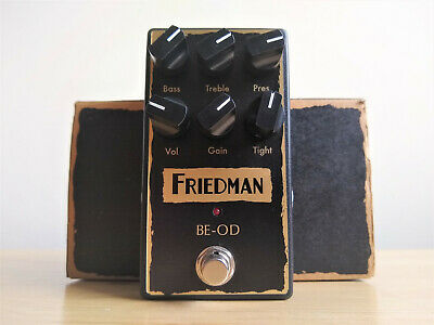 Friedman BE-OD (BEOD) Overdrive Distortion Guitar Pedal • 139£