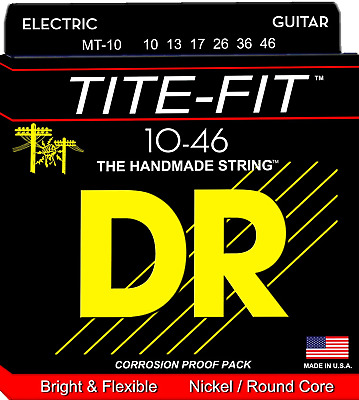 DR Tite-Fit Electric Guitar Strings 10-46