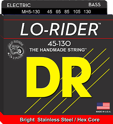 DR Lo-Rider Bass Guitar 5-Strings 45-130