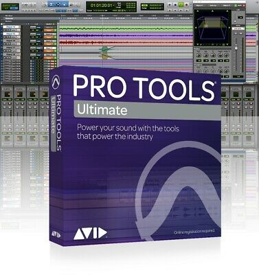 Avid Pro Tools ¦ Ultimate Annual Subscription Renewal – Boxed Edition • 628.91£