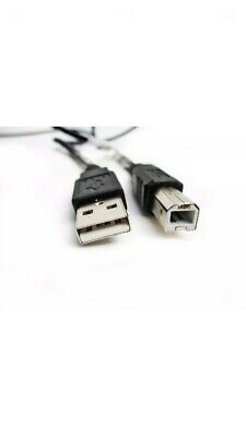 3m5m USB PC / Data Black Cable Lead For TEAC Tascam US-4x4 MIDI Interface • 5.99£