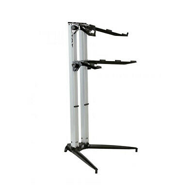 STAY PIANO 120002 Two Tier Heavy Duty Keyboard Stand, Blue (NEW) • 249.99£