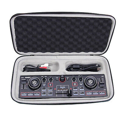 Black Portable Case Hard Box Storage Bag For Numark DJ2GO2 Pocket DJ Controller • 24.66£