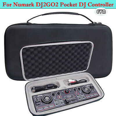 Portable Case EVA Hard Box Storage Bag For Numark DJ2GO2 Pocket DJ Controller • 23.62£