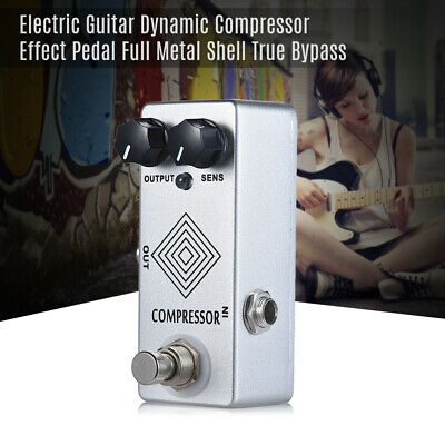 MOSKY Dynamic Compressor Guitar Effect Pedal Based On MXR DYNA COMP True Bypass • 21.21£