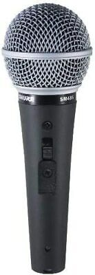 Shure SM48S-LC Vocal Microphone  Cardioid  Dynamic On/Off Switch • 47.84£
