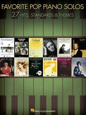 Favorite Pop Piano Solos - 27 Hits And Themes INTACT Hal Leonard Publishing Corp • 13.76£