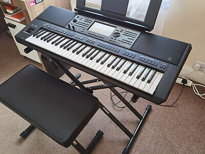 Yamaha Workstation PSR SX700, 61 Keys Plus INNOX Double Stand And Bench Bundle. • 850£