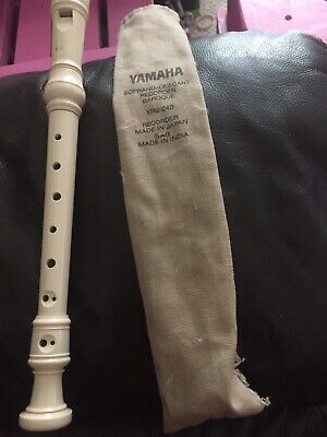 Yamaha YRS-24B Soprano Recorder With Baroque Fingering • 4£
