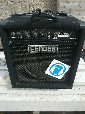 Fender Rumble 15 Bass Amplifier - 2nd Hand - Used  • 70£