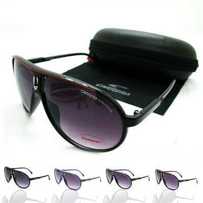 New Carrera Women Men's Sunglasses Pilot Gradient Lens Eye Glasses Brand Box Hot • 7.98£