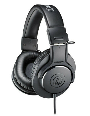 Audio Technica ATH-M20x Closed Back Headphones (NEW) • 46.33£