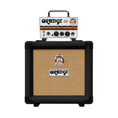 Orange Micro Terror 20 Watt Amplifier Head With Black PPC108 Cabinet (NEW) • 169£