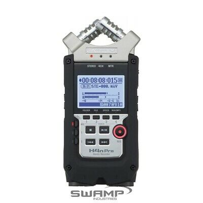 Zoom H4n PRO Handy 4 Track Channel Portable Digital Audio Field Recorder • 247.14£