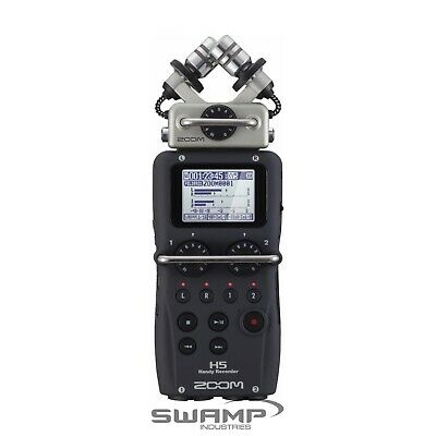 Zoom H5 Handy Portable Field Recorder With Interchangeable Microphone System • 241.32£