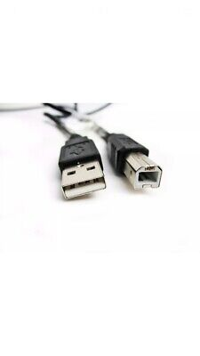 5m USB PC / Data Black Cable Lead For TEAC Tascam US-4x4 MIDI Interface • 5.99£