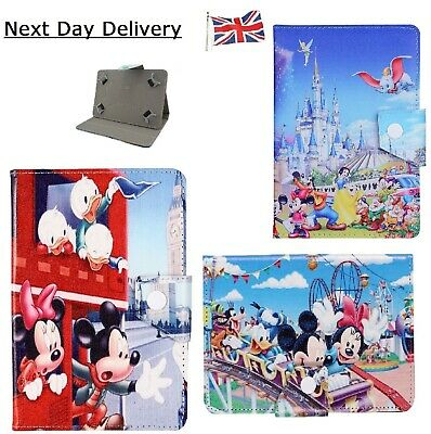 Mickey Minnie Mouse Stand Up Case ~ Tablet Cover Compatible With All IPad Models • 9.99£