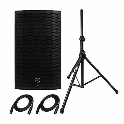 Mackie Thump12A 1300W 12  Powered Loudspeaker With Stand And 2 XLR Cables • 253.25£