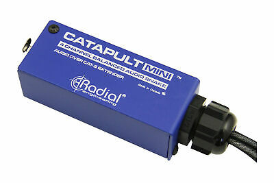 Radial Engineering Catapult Mini RX | 4-Channel Cat 5 Audio Snake • 64.51£