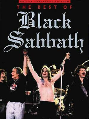 The Best Of Black Sabbath By Music Sales Corporation (English) Paperback Book Fr • 24.09£