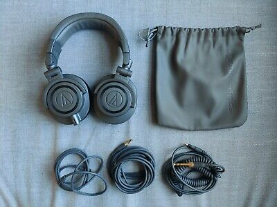 ATH-M50X Matte Grey Limited Edition Headphones • 90£