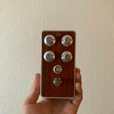 Used Burnley Bubinga Wood Finish Bogner Distortion Guitar Effects Pedal Rare F/S • 285.26£