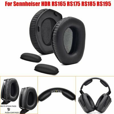 2*Ear Pads Replacement/2*Headband Cushions For Sennheiser HDR RS165/175/185/195 • 3.19£