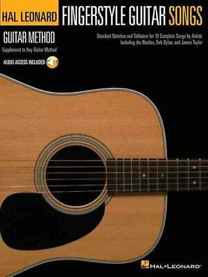 Fingerstyle Guitar Songs Hal Leonard Guitar Method Supplement 9781458423696 • 11.10£