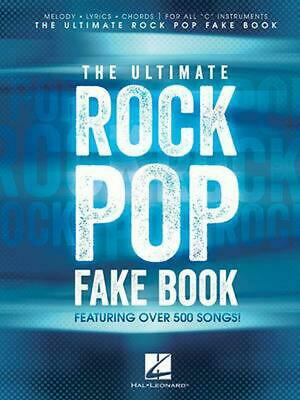 The Ultimate Rock Pop Fake Book By Hal Leonard Publishing Corporation (English)  • 25.19£