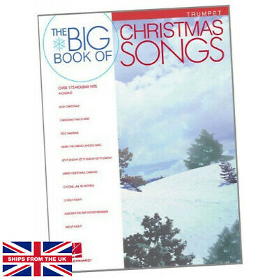 Big Book Of Christmas Songs For Trumpet - Hal Leonard Corp (2006, Paperback) NEW • 11.99£
