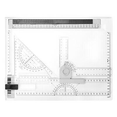 A4 Picture Drawing Board Cartographic Platform With Smooth Guide Rails B5D5 • 21.28£