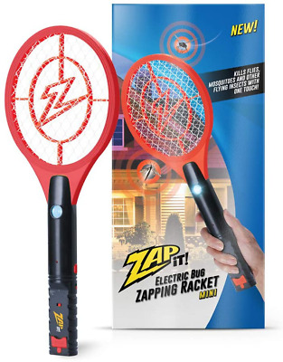 Bug Zapper Rechargeable Bug Zapper Racket 4,000 Volt With USB Charging Cable • 19.59£