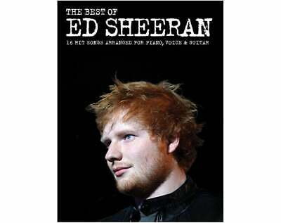 Ed Sheeran - The Best of Piano Vocal Guitar Sheet Music Book - Wise Publications