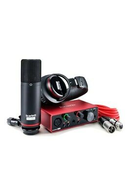 Focusrite Scarlett Solo Studio 3rd Gen USB Audio Interface Bundle • 189.99£