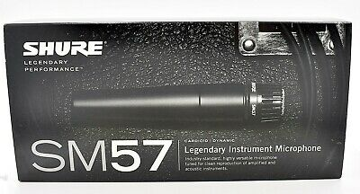Shure SM57-LC Cardioid Dynamic Microphone Complete In Box  • 57.88£
