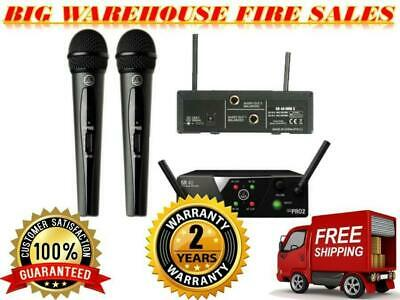 AKG WMS40 MINI2 Dual Vocal Wireless Handheld Microphone System US25BD Frequency • 145.43£