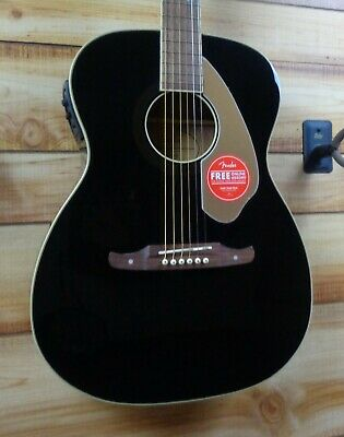 New Fender® Tim Armstrong Anniversary Hellcat Acoustic Electric Guitar Black • 323.34£