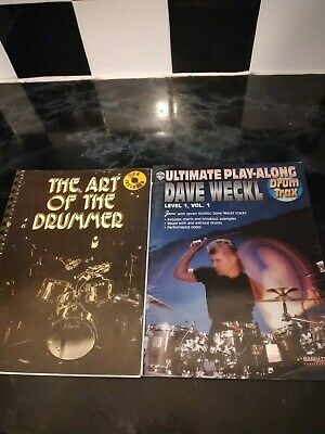 The Art Of The Drummer & Dave beck drummer books no cds