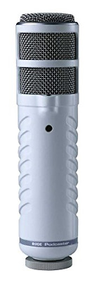 R�DE Podcaster Dynamic Large-Diaphragm Microphone with USB Connection for Mac PC