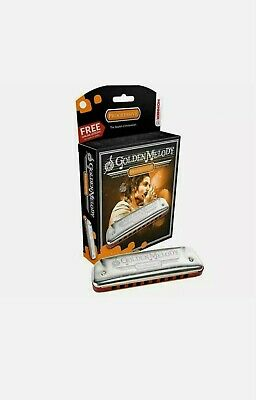 Hohner Golden Melody Harmonica (Mouth Organ/Harp) All Keys Available FREE UK P&P
