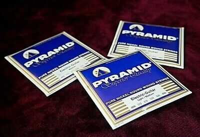 Pyramid Electric Guitar Strings: Pure Nickel - Superior Quality MADE IN GERMANY