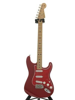 Secondhand Fender Mexico Deluxe Powerhouse Stratocaster/Red/2000/Active Booster