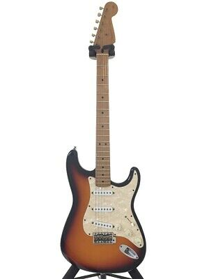 Secondhand Fender Mexico Deluxe Powerhouse Stratocaster/Sb/1998/Active Booth