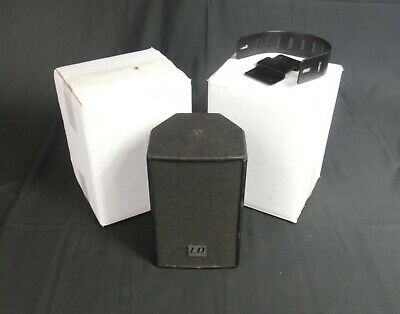 L D System SAT 42 Monitor Speakers Black matching Pair