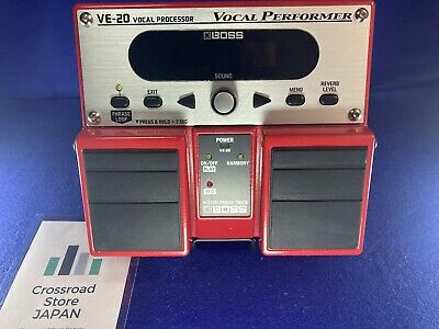 BOSS VE-20 Vocal Processor Excellent From Japan [USED/Vocal Effects/BOSS]