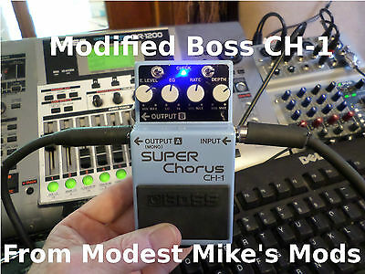 Modified Boss CH-1 From Modest Mike's Mods! • 120.88£